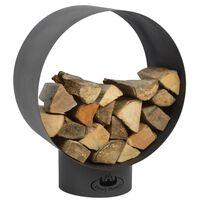Esschert Design Хранилище за дърва, кръгло, FF282