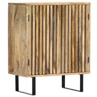 vidaXL Шкаф, 60x35x75 см, мангово дърво масив
