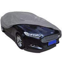 vidaXL Покривало зо автомобил от нетъкан текстил L