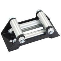 vidaXL 4-пътен ролков водач за лебедка, стомана, 8000-13000 либри