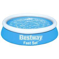 Bestway Fast Set Надуваем басейн, кръгъл, 183x51 см, син