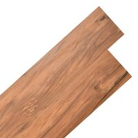 vidaXL Самозалепващи подови дъски от PVC 5,02 м² 2 мм натурален бряст