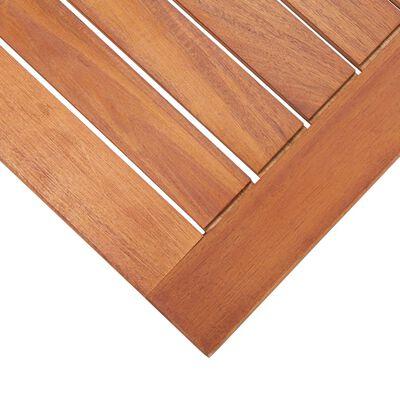 vidaXL Градински комплект от 4 части, акациево дърво масив