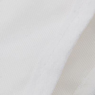 vidaXL Бимини топ, 3 дъги, бял, 183x160x137 см