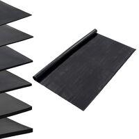 vidaXL Гумена настилка против хлъзгане, 1,2x5 м, 1 мм, гладка
