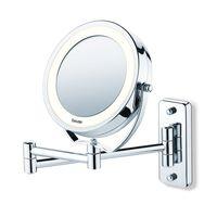 Beurer Осветено козметично огледало, BS59, сребристо, 584.10