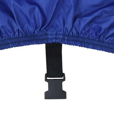 vidaXL Покривало за лодка, синьо, 760x430 см