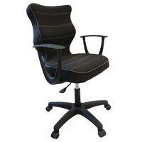 Entelo Ергономичен офис стол NORM, черен, BA-B-6-B-C-FC01-B
