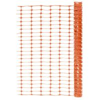 vidaXL Сигнално маркировъчна мрежа, 50 м, оранжева