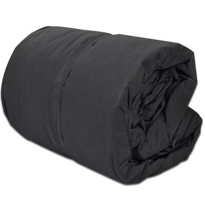 vidaXL Покривало за каравана, сиво, размер L