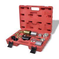 vidaXL Комплект инструменти за подмяна на тампони и лагери на BMW