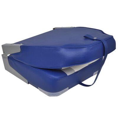 vidaXL Сгъваеми столове за лодка, 2 бр, висока облегалка