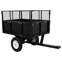 vidaXL Ремарке за трактор за косене, за товар от 300 кг