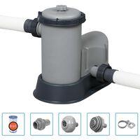 Bestway Филтърна помпа за басейн Flowclear 5678 л/ч