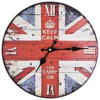 vidaXL Винтидж стенен часовник Великобритания, 30 см