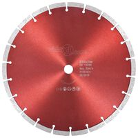 vidaXL Диамантен режещ диск, стомана, 300 мм